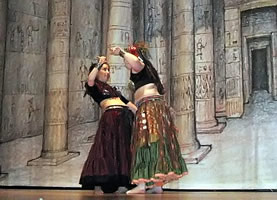 Wild Gypsy Fire Leans Into Their Bellydance