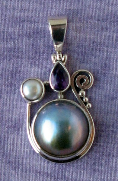 Sterling Silver Pendant 05