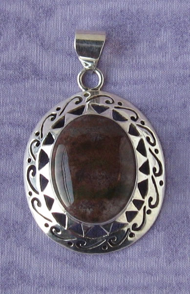 Sterling Silver Pendant 07