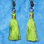 Clippy Bit Mini- Lime Tassel