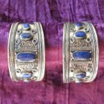 Kuchi Cuff with Lapis Accents 2